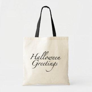 Halloween Greetings Bag