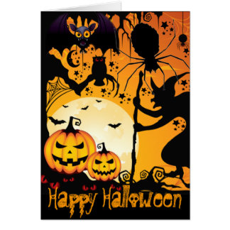 Halloween greetings_ card