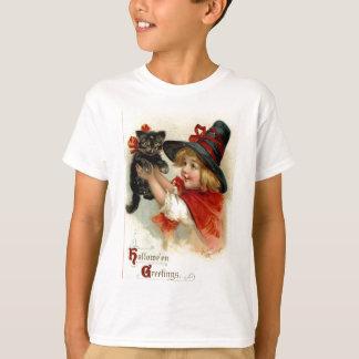 Halloween Greetings - Frances Brundage T-Shirt