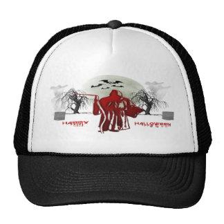 Halloween Grim Reaper Mesh Hat