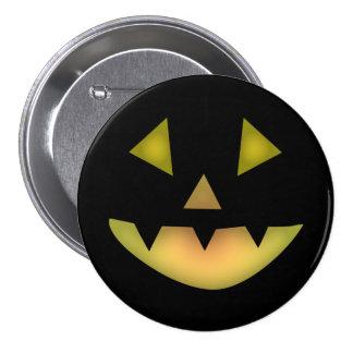 Halloween Grin Button