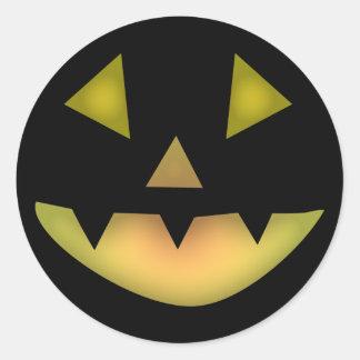Halloween Grin Sticker