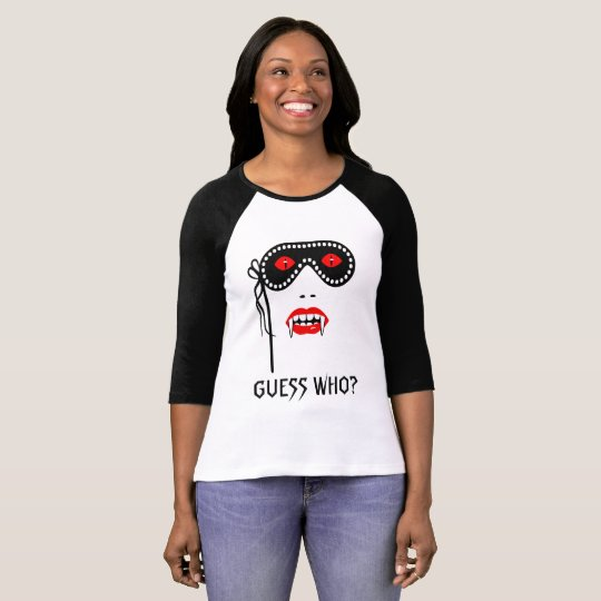 Halloween Guess Who elegant funny T-Shirt