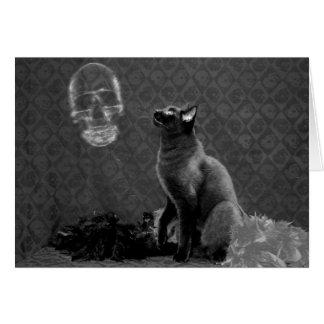 Halloween Happy & Ghost Greeting Card