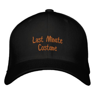 Halloween Hat Embroidered Hat