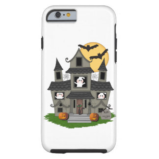 Halloween Haunted House Tough iPhone 6 Case