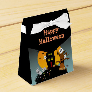 Halloween Haunted House Favor Box