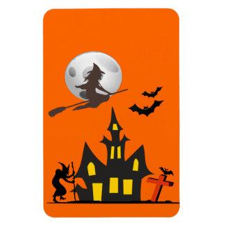 Halloween Haunted House Flexible Magnet