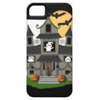 Halloween Haunted House iPhone 5 Case