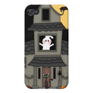 Halloween Haunted House iPhone 4 Cases