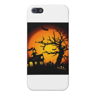Halloween haunted house covers for iPhone 5