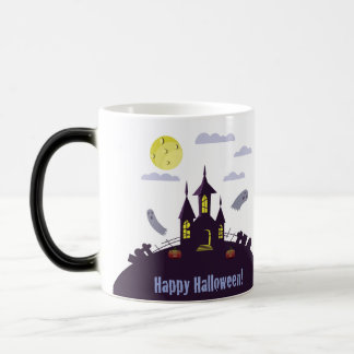 Halloween Haunted House Magic Mug