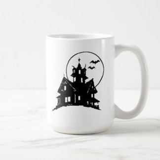 Halloween Haunted House Mugs