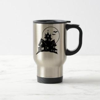 Halloween Haunted House Coffee Mug