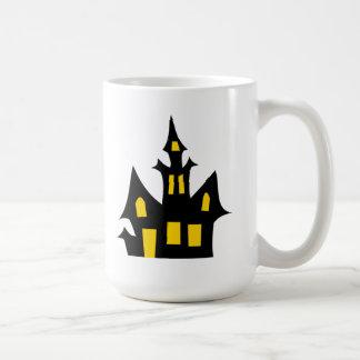 Halloween Haunted House Coffee Mugs