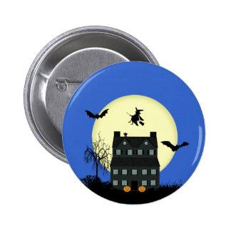 Halloween Haunted House Pins / Badges