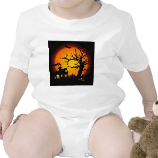 Halloween haunted house t-shirts