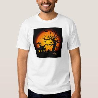 Halloween haunted house tshirts