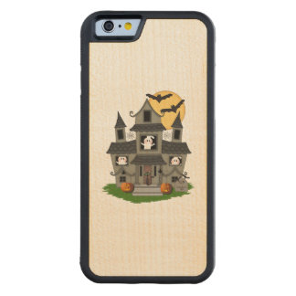Halloween Haunted House Maple iPhone 6 Bumper