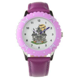 Halloween Haunted House Wrist Watches