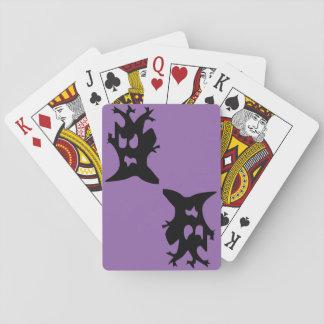 Halloween Haunted Tree Poker Deck