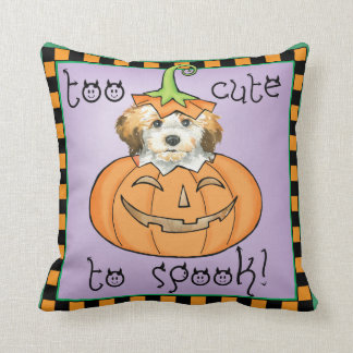 Halloween Havanese Cushion