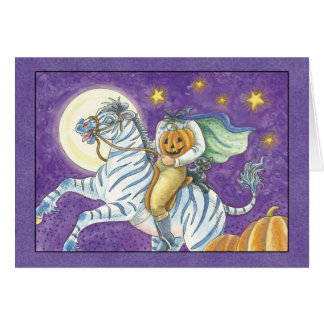 Halloween Headless Horseman Birthday Card