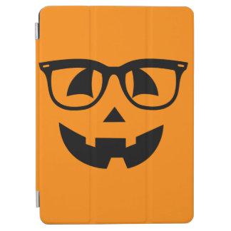 Halloween Hipster Pumpkin Pattern iPad Air Cover