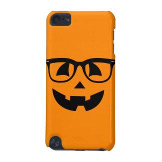 Halloween Hipster Pumpkin Pattern iPod Touch 5G Cover