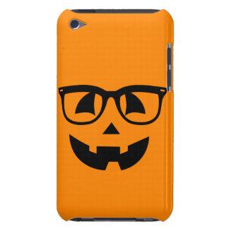 Halloween Hipster Pumpkin Pattern iPod Touch Case-Mate Case