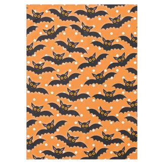 Halloween Holiday Custom Retro Bats Tablecloth