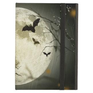 Halloween holidays mystery with fairy tale moon iPad air cover