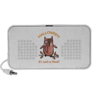 Halloween Hoot Notebook Speaker