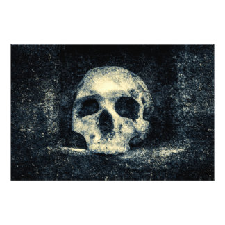 Halloween Horror Skull Photo Print