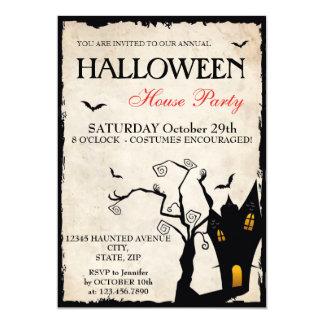Halloween House Party Invitation