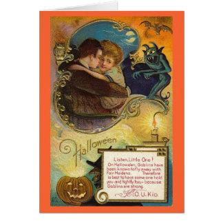 Halloween Hug Greeting Card