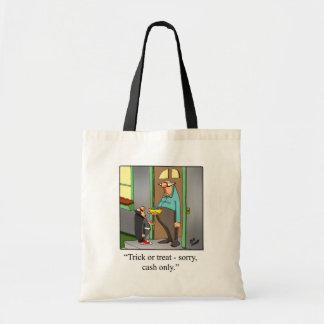 "Halloween Humor Tote Bag Gift ""Spectickles"""