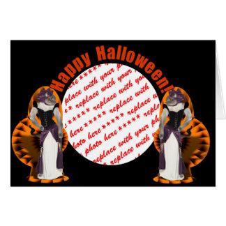 Halloween Hussy / Halloween Cat Card