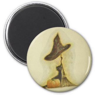 Halloween II 6 Cm Round Magnet