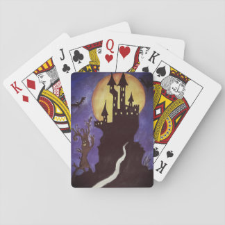 Halloween Illustartion bats Classic Playing Cards