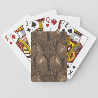 Halloween-inspired Playing Cards