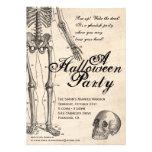 Halloween Invitation Mr. Bones Skeleton Party