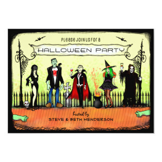 Halloween Invite - Halloween Costume Party