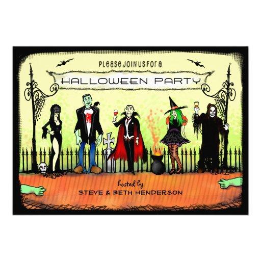Halloween Invite - Halloween Costume Party