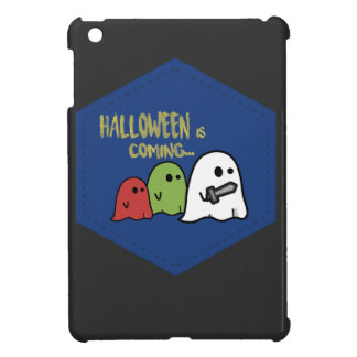 Halloween is coming cover for the iPad mini