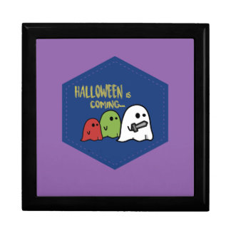 Halloween is coming gift box