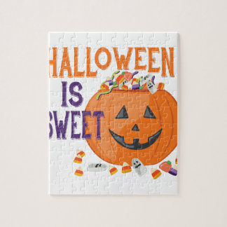Halloween Is Sweet Jigsaw Puzzle