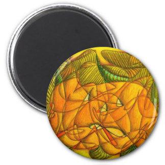 Halloween IV 6 Cm Round Magnet