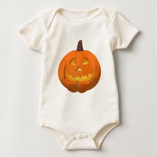 Halloween: Jack-o-Lantern: Baby Bodysuit