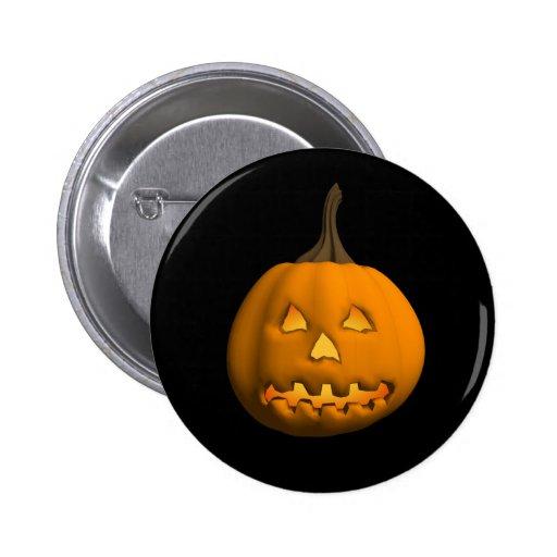 Halloween: Jack-o-Lantern: Buttons